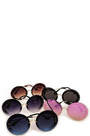 Stylish Modern Round Sunglasses