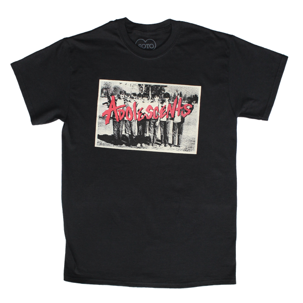 BRATS CROOKED PHOTO BLACK TEE