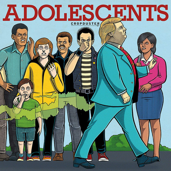 Adolescents ‎Cropduster CD