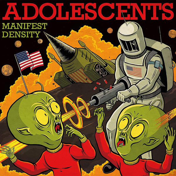 Adolescents ‎Manifest Density Vinyl
