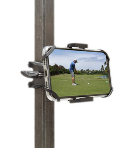 BB Swing Recording System | Golf Cart or Pull Cart Mount for Smartphone
