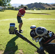 Load image into Gallery viewer, BB Swing Recording System | Golf Cart or Pull Cart Mount for Smartphone