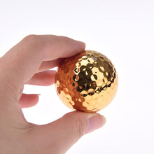 Load image into Gallery viewer, Gold Golf Ball - Plays like a Bstone e6
