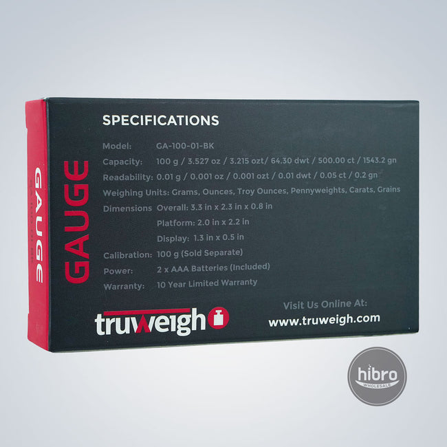 TRUWEIGH GAUGE 100G X 0.01G