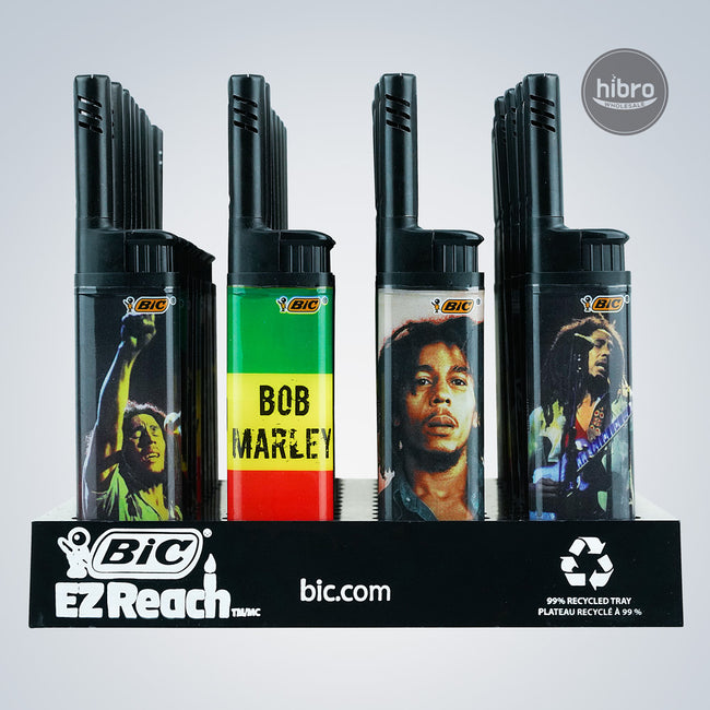 BIC EZ REACH LIGHTER 40CT - BOB MARLEY