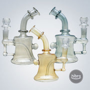 6.5 INCH SHINY WATER PIPE