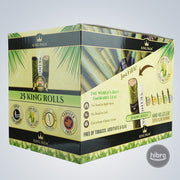 KING PALM - 25 KING ROLLS ( 8CT)
