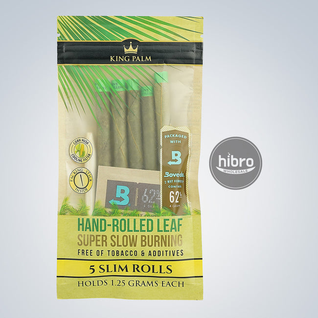 KING PALM - 5 SLIM ROLLS ( 15CT)