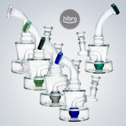 "7"" CLEAR RECYCLER W/ COLOR POINT"