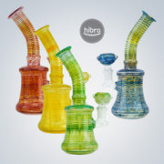"7.5"" COLOR SPIRAL WATER PIPE"