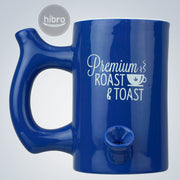 "MUG PIPE 5"" - ROAST & TOAST (BLUE)"