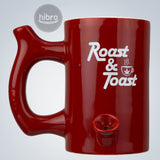 "MUG PIPE 5"" - ROAST & TOAST (RED)"
