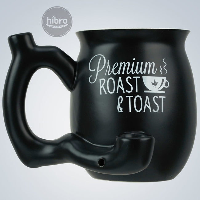 "MUG PIPE 4"" - ROAST & TOAST (MATT BLACK)"