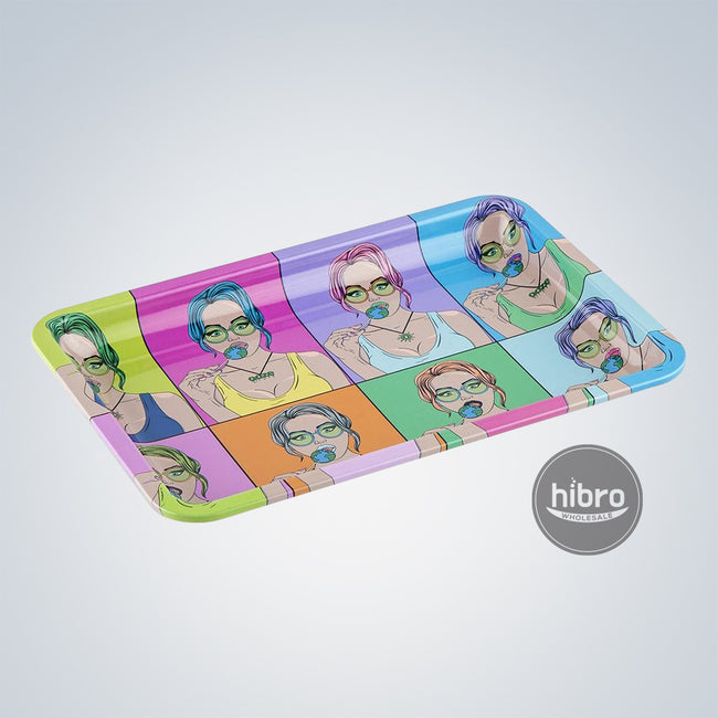 OOZE ROLLING TRAY LARGE - METAL - CANDY SHOP