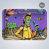 OOZE ROLLING TRAY LARGE - METAL - INVASION