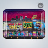 OOZE ROLLING TRAY LARGE - METAL - TAG