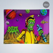 OOZE SHATTER RESISTANT GLASS TRAY - INVASION