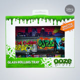 OOZE SHATTER RESISTANT GLASS TRAY - TAG