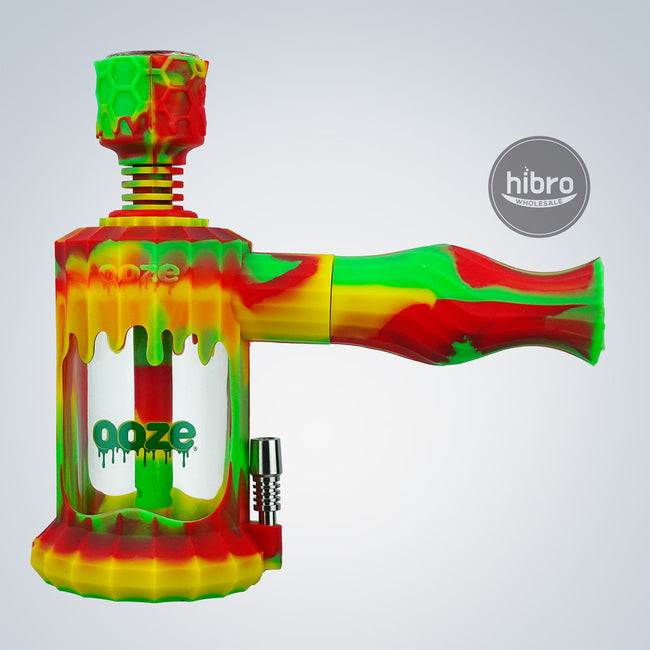 OOZE CLOBB 4 IN 1 SILICONE WATER PIPE & NECTAR STRAW