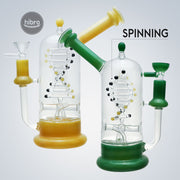 9 INCH DNA SPINNING WATER PIPE