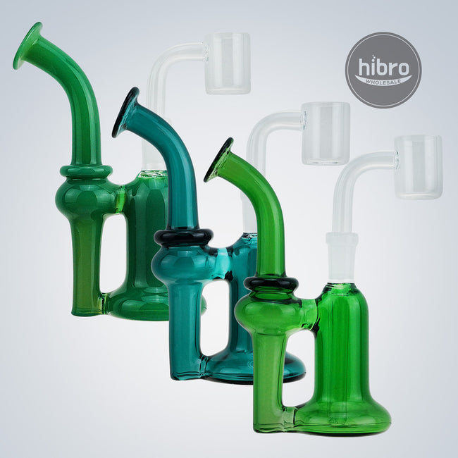 "5.25"" WATER PIPE RECYCLER (10MM MALE)"