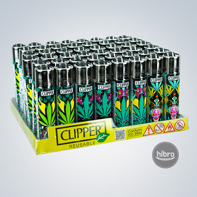 CLIPPER LIGHTER - 48CT STARS
