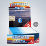 ELEMENTS RICE PAPER 1 1/4 - 50CT/25BOOKS