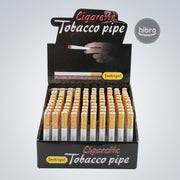 CIGARETTE STYLE METAL PIPE - LONG 100CT