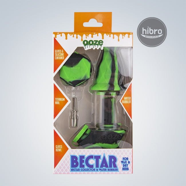 OOZE BECTAR 2IN1 SILICONE WATER PIPE