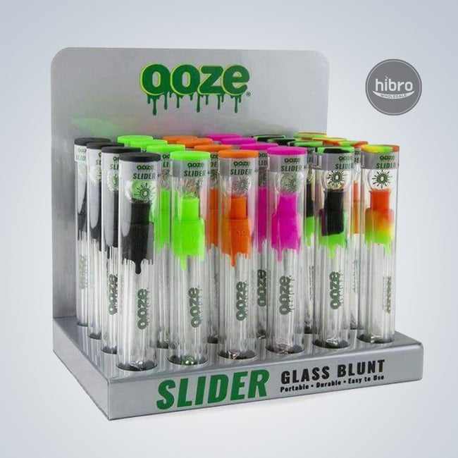 OOZE SLIDER GLASS BLUNT - 18CT SET
