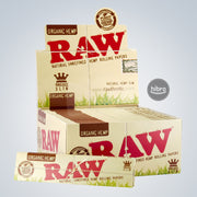 RAW ORGANIC KING SIZE SLIM PAPERS - 50ct