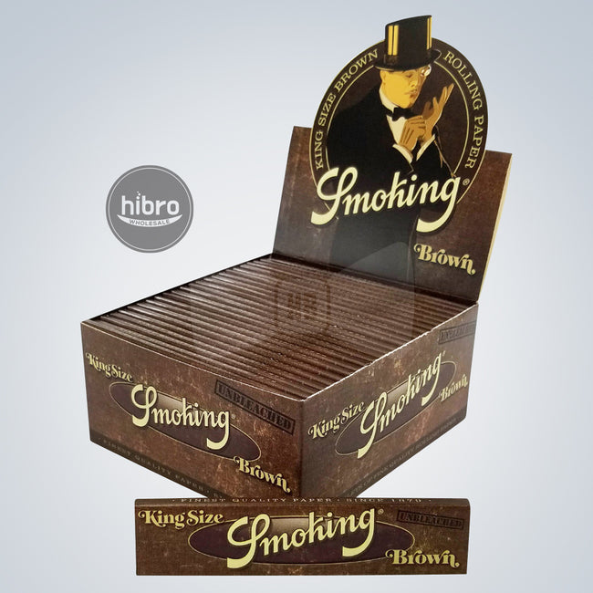 SMOKING BROWN UNBLEACHED KING SIZE - 50CT