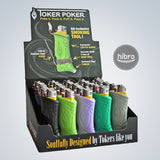 TOKER POKER DISPLAY - 25CT (LIGHTERS NOT INCLUDE)