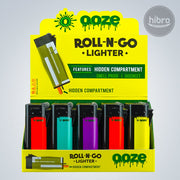 Roll-N-Go Lighter 25ct - HIDDEN COMPARTMENT(SMELL PROOF)