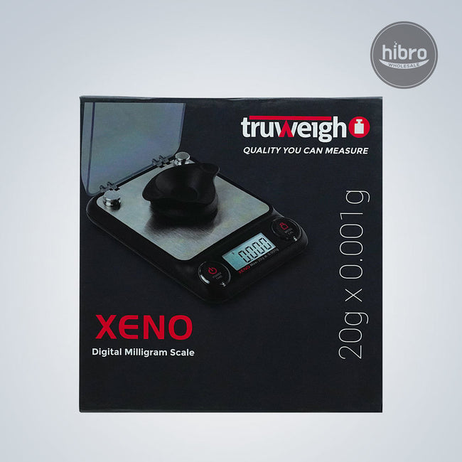TRUWEIGH XENO DIGITAL MILLIGRAM SCALE 20G X 0.001G - BLACK