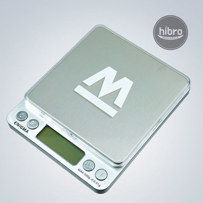 TRUWEIGH ENGIMA SCALE - 500G X 0.01G - SILVER