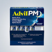 ADVIL PM 50CT ($0.29EACH)