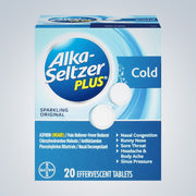 ALKA-SELTZER PLUS COLD - 20PC ($0.45EACH)