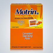 MOTRIN 50CT ($0.23EACH)