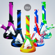 R GLASS SILICONE WATER PIPE
