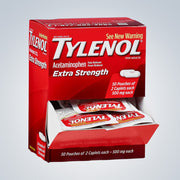TYLENOL EXTRA STRENGTH 50CT ($0.28EACH)