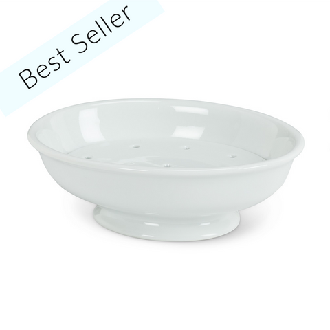2 Piece Soap Dish & Strainer