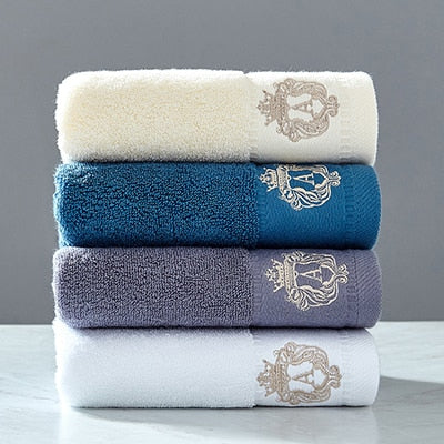Austin 2 Piece 100% cotton Decorative Towel Set