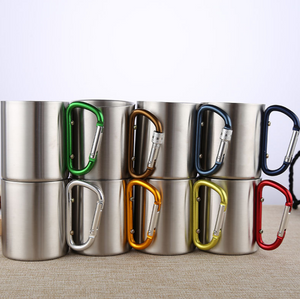 Stainless Steel Camping Mugs - get 20% Discount!