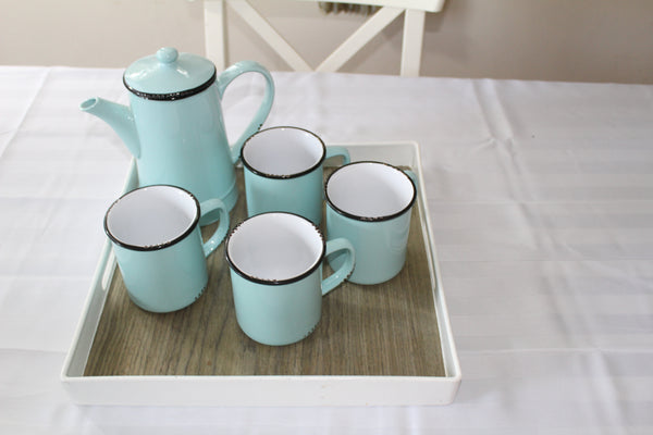 Coffee Set with Four Mugs