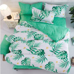 4-piece Reversible Duvet Sets - Various Designs