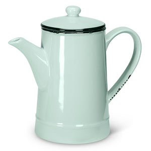 Enamel Look Coffee Pot