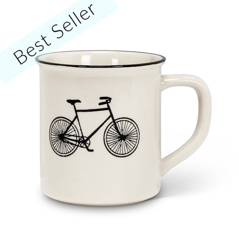 Retro Bicycle Mug