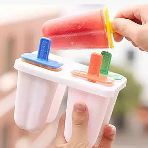 4 piece ice cream/popsicle Mold