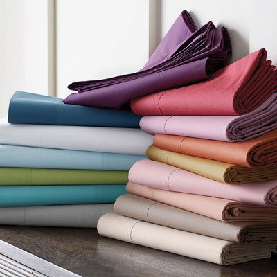 4 Piece Cotton Bed Sheet Sets - Various Colours